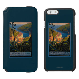 La Riviera Italienne iPhone 6/6s Wallet Case
