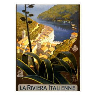 La Riviera Italienne. Portofino Postcard