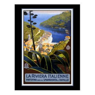 La Riviera Italienne Postcard