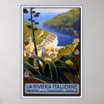 La Riviera Italienne Print