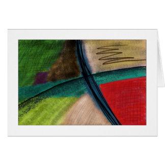 La rivière - carte card
