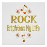 La roca aclara mi vida posters