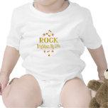 La roca aclara mi vida traje de bebé