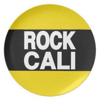 La roca Cali amarillea de largo Plato