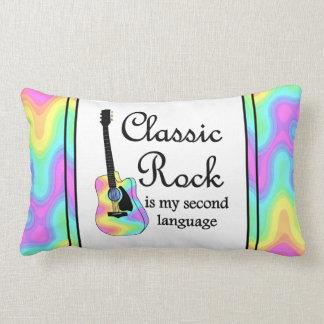 La roca clásica es mi segunda almohada del Lumbar Cojín Lumbar
