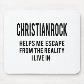 La roca cristiana me ayuda a escaparme de la alfombrilla de ratón