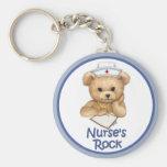 La roca de la enfermera llavero