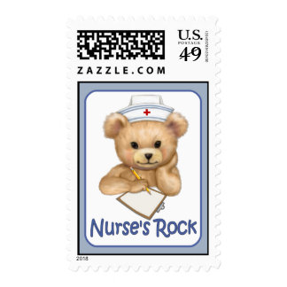 La roca de la enfermera sello