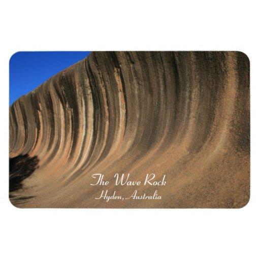 La roca de la onda, Hyden, Australia - imán