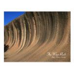 La roca de la onda, Hyden, Australia - postal