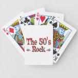 La roca de los años 50 baraja