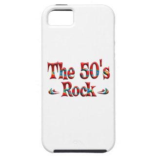 La roca de los años 50 iPhone 5 Case-Mate cobertura