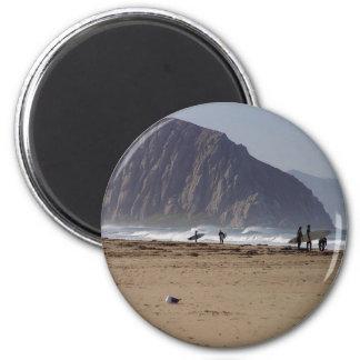 La roca de Morro vara a personas que practica surf Iman Para Frigorífico