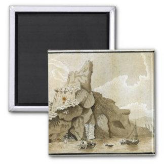 La roca de Quang-Yin Iman Para Frigorífico