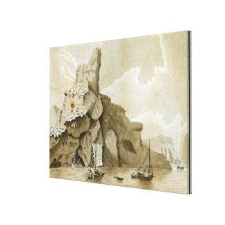 La roca de Quang-Yin Impresion De Lienzo