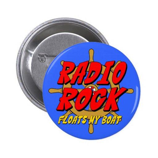 La roca de radio flota mi barco pin