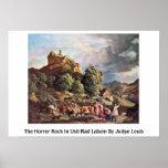 La roca del horror en Usti Nad Labem del juez Loui Posters