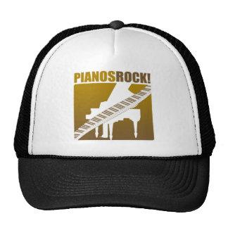 ¡La roca del piano! Gorro