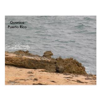 La Roca en la Playa Postcard