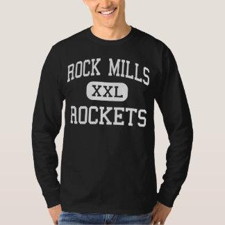 La roca muele - Rockets - al joven - Roanoke Playera