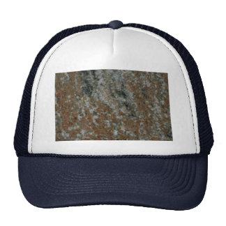 La roca sólido heló el ámbar gorros bordados