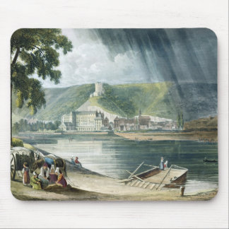 La Roche, from 'Views on the Seine', engraved by T Mouse Pad
