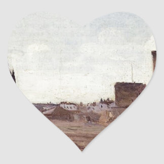 La Rochelle Quarry near the Port Entrance Heart Sticker