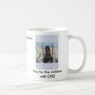 la rogación maddy, ruega para los niños con CHD,… Taza De Café