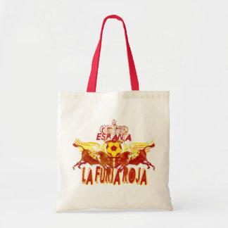 La Roja Twin Toros Raging Bulls futbol kings Bags