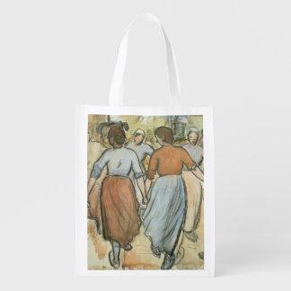 La ronda, c.1884 (w/c en el papel) bolsas de la compra