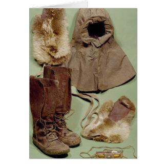 La ropa de Scott usada en el antártico Felicitacion