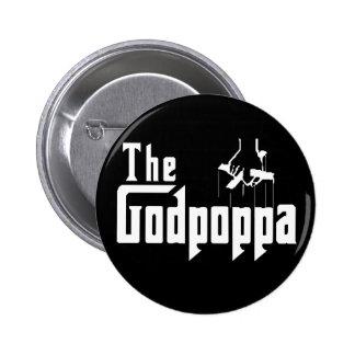La ropa del día de padre de la diversión de Godpop Pins