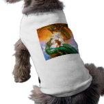 La ropa del mascota del dragón del duelo camisa de perrito
