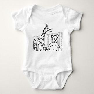 La ropa del niño del sitio del bebé polera