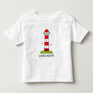 La ropa del niño náutico de la camiseta el | del polera