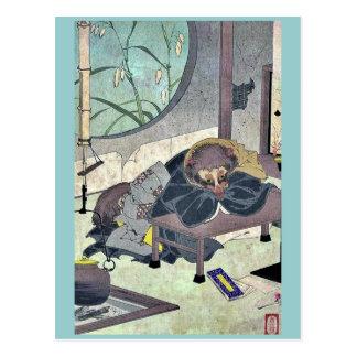 La ropa que cambia el pote del té por Taiso, Yoshi Postales