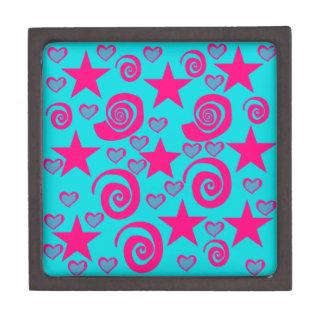 La rosa fuerte azul del trullo femenino protagoniz cajas de joyas de calidad