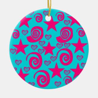 La rosa fuerte azul del trullo femenino protagoniz ornamento de reyes magos