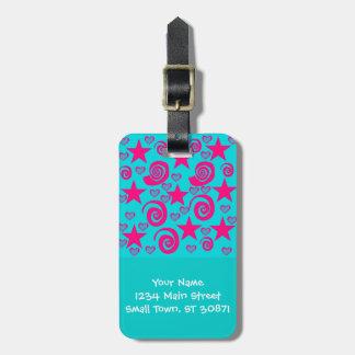 La rosa fuerte azul del trullo femenino protagoniz etiquetas bolsas