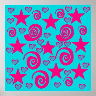 La rosa fuerte azul del trullo femenino protagoniz impresiones