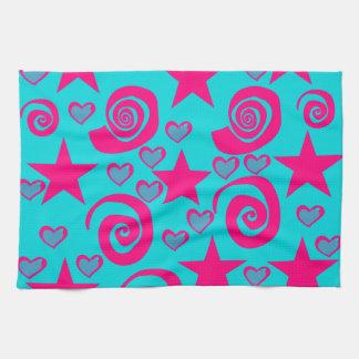 La rosa fuerte azul del trullo femenino protagoniz toallas de mano