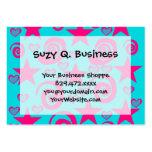 La rosa fuerte azul del trullo femenino protagoniz tarjetas de negocios