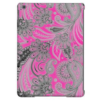 La rosa fuerte texturiza las cajas del aire de Ipa Funda Para iPad Air