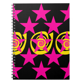La rosa fuerte y el negro enrrollados protagoniza  libreta espiral