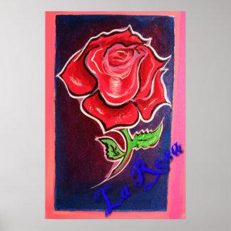 la Rosa Póster