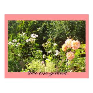 La rosaleda tarjetas postales