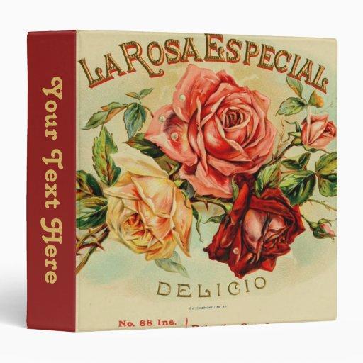 La Rose Especial Vinyl Binders