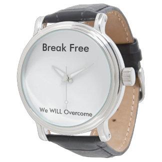 La rotura libera el reloj