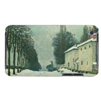 La Route de Louveciennes, Hiver, 1874 (aceite en c iPod Touch Case-Mate Funda