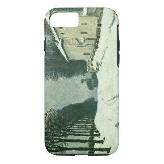 La Route de Louveciennes, Hiver, 1874 (oil on canv iPhone 7 Case